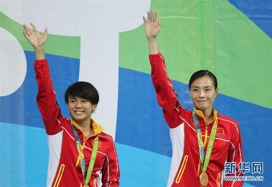 حصدت الصين أول ذهبية للغطس بفوز وو مين شيا وشي تينغ ماو