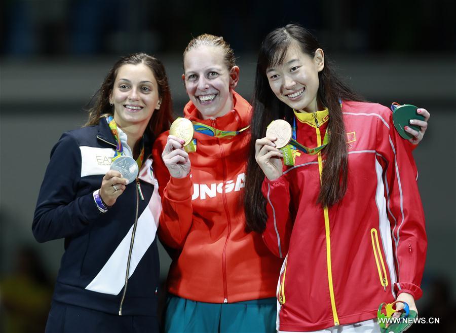 JO 2016/Epée féminine: La Hongroise Emese Szasz sacrée championne olympique