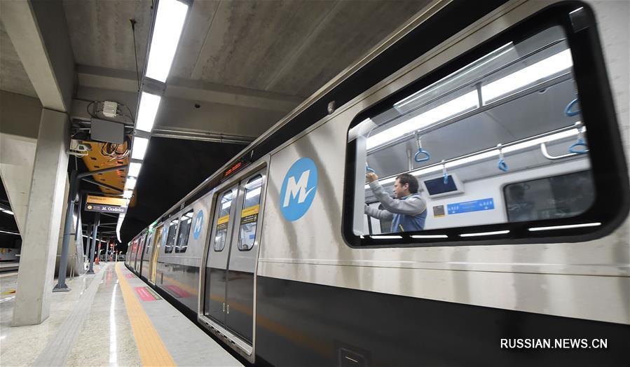 Новая ветка метро в Рио-де-Жанейро связала центр города с Олимпийским парком