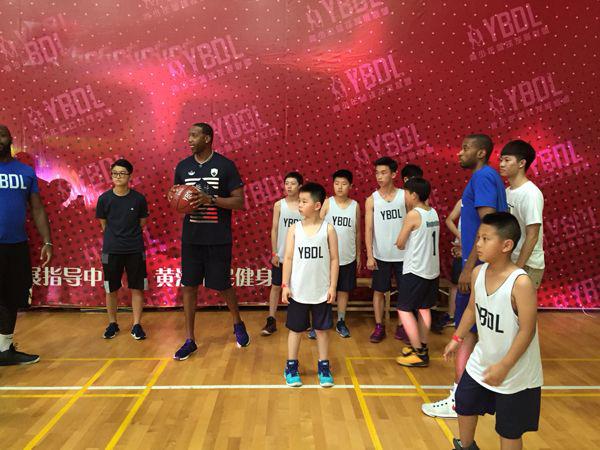 Звезды НБА провели мастер-класс для шанхайских подростков