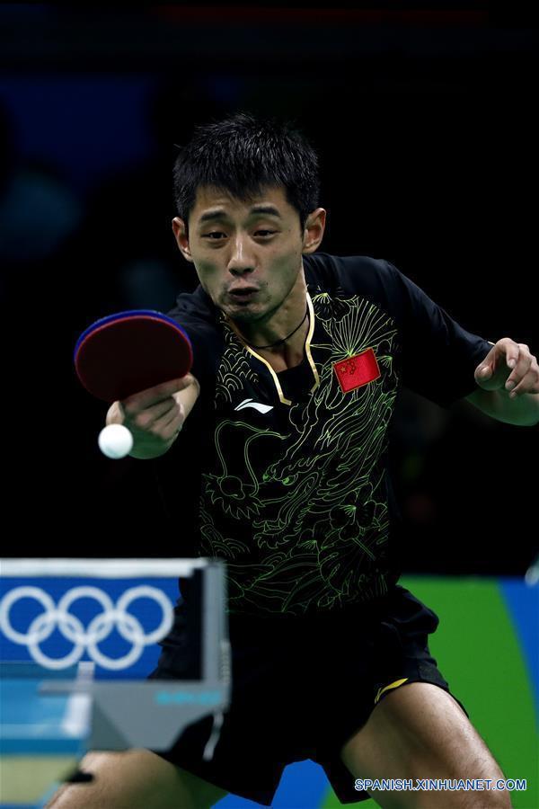 551a623120 Río 2016  Cuatro chinos pasan a octavos de final en tenis de mesa