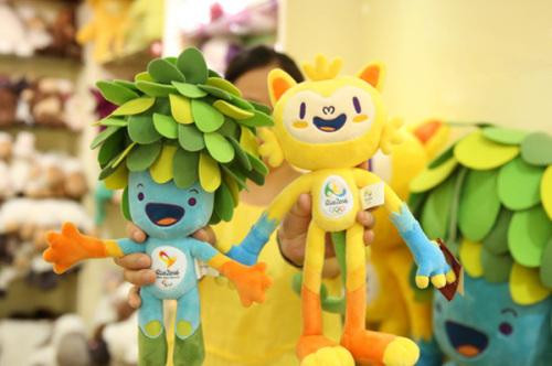 В КНР выпущены лицензионные олимпийские сувениры для игр в Бразилии