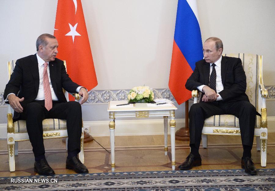"""Турция готова обеспечить поставки газа из России в Европу через """"Турецкий поток"""" -- президент"""