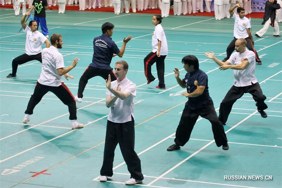 В Яньтае открылся 13-й Международный спортивный фестиваль ушу