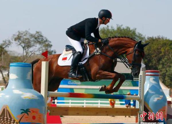 Rider gets best result ever for China in equestrian