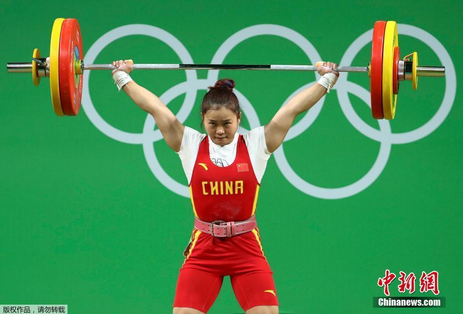 الصين تفوز بذهبيتين اثنتين في رفع الأثقال
