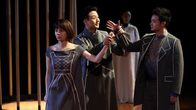 国家大剧院制作莎士比亚话剧《仲夏夜之梦》中,戏剧演员队的成员们就已初次亮相。