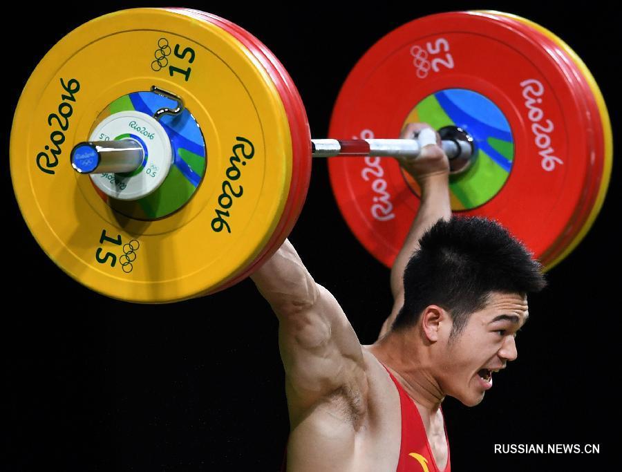 За четыре дня сборная КНР завоевала 8 золотых, 3 серебряных и 6 бронзовых медалей