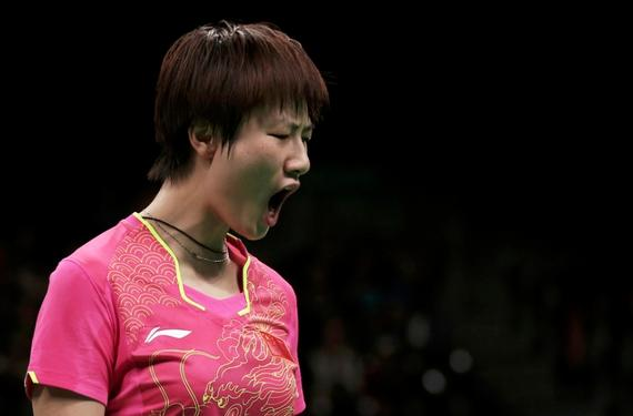 Китаянка Дин Нин завоевала золото Олимпиады в Рио-де-Жанейро в настольном теннисе