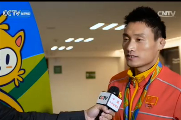 Cheng says medal is just start for china.