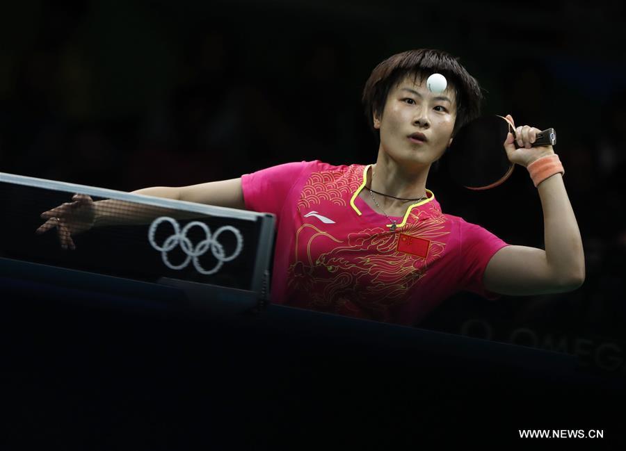 JO-2016 : la pongiste chinoise Ding Ning remporte la médaille d