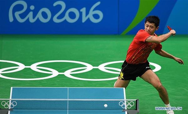 Men\'s table tennis final: All-Chinese showdown - CCTV News - CCTV ...