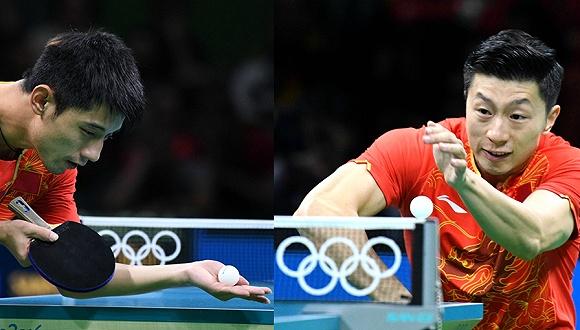 Китайский спортсмен Ма Лун стал олимпийским чемпионом по настольному теннису
