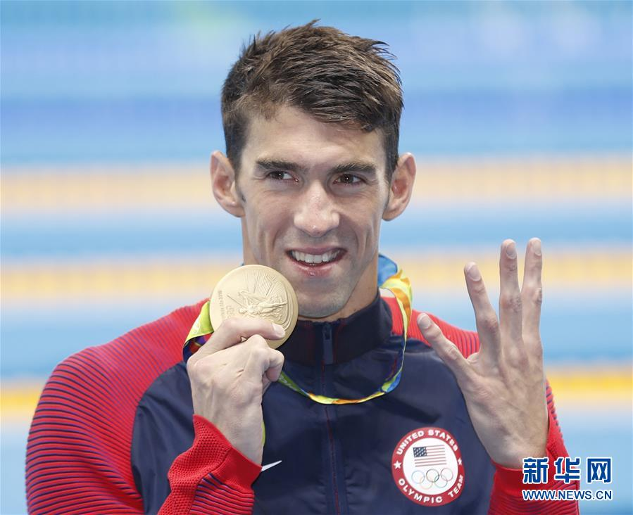 """So far, the """"Baltimore Bullet"""" has bagged 22 Olympic gold medals and continues his reign in Rio."""