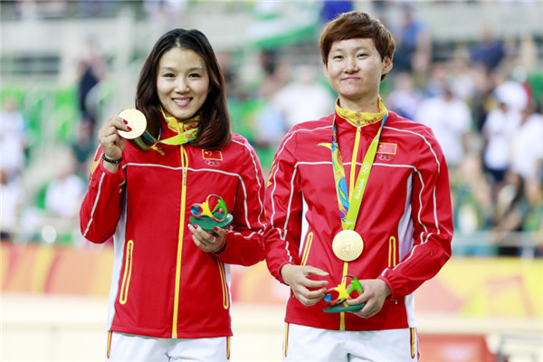 Chinese duo making history for their country -- and doing so after so many close calls.