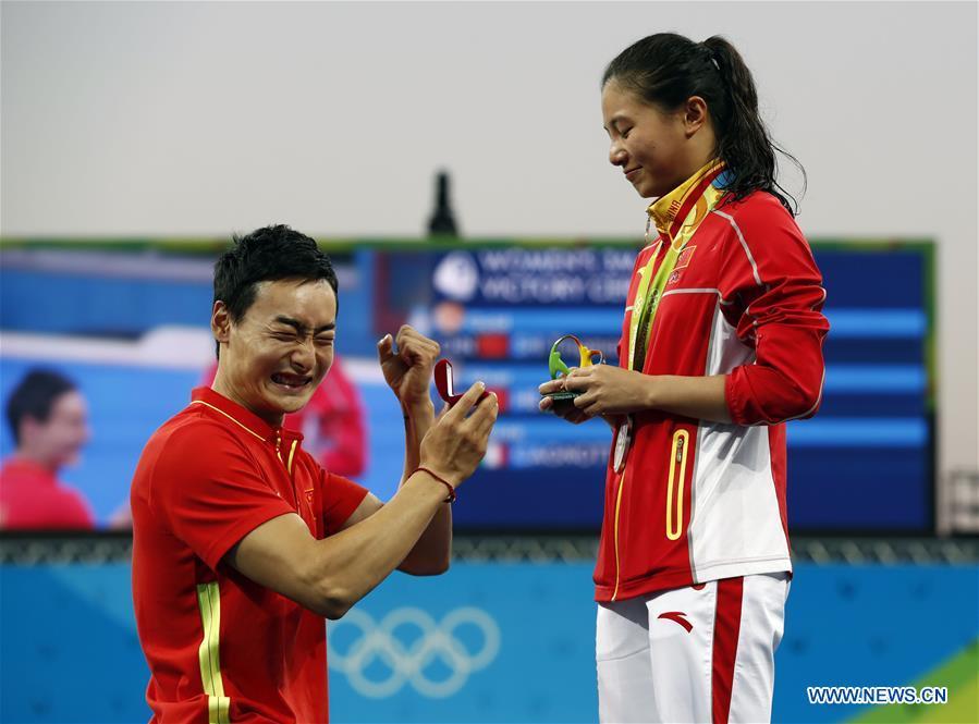 Silver medallist China