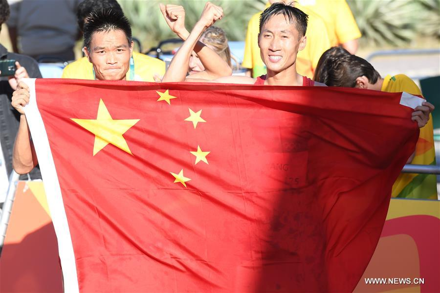 Wang Zhen a offert à la Chine sa 12ème médaille d