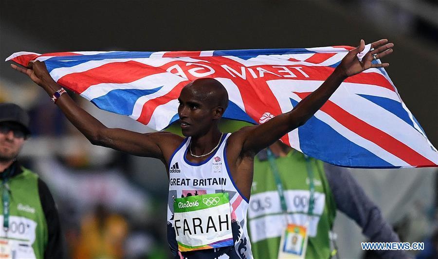 JO de Rio/Athlétisme : le Britannique Mohamed Farah champion du 10.000 m