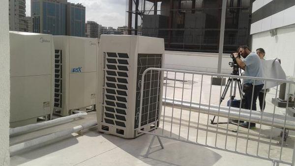 أنظمة تكييف الهواء المركزية الصينية في الأولمبياد