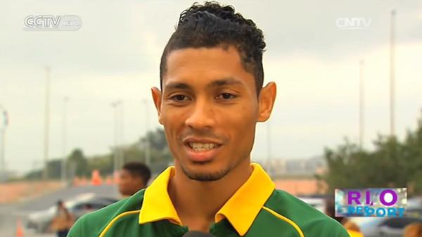 Interview with Wayde van Niekerk: South African sets new world record running 43.03 seconds