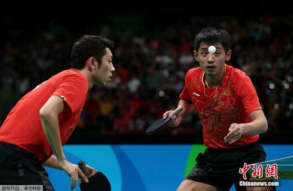 الصين تخوض نهائي منافسات فرق الرجال بتنس الطاولة