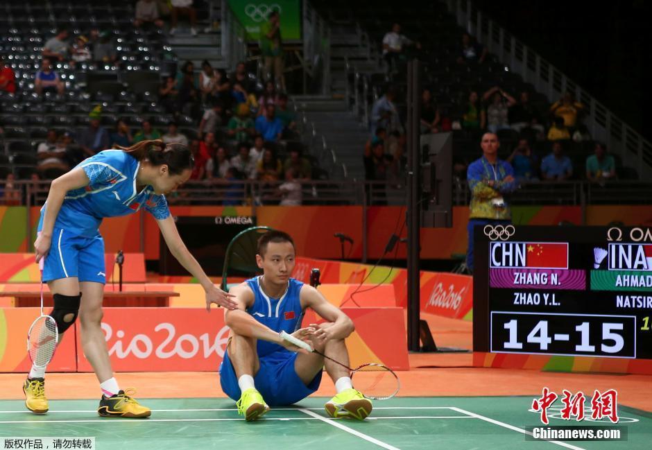 الصين تفشل في نصف النهائي لمسابقات الزوجي المختلط للريشة الطائرة