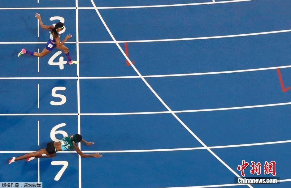 شوناي ميلر تحصد ذهبية سباق 400 م عدو سيدات في أولمبياد ريو