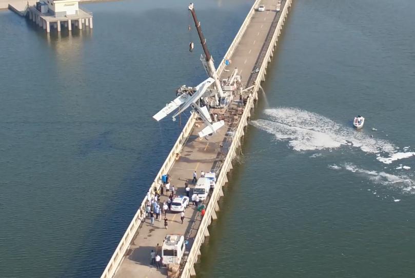 上海金山水上飞机撞桥事故调查:排除飞机故障可能