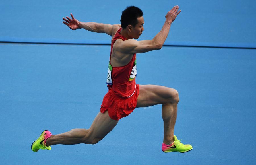 Dong Bin competes. [Photo/Agencies]