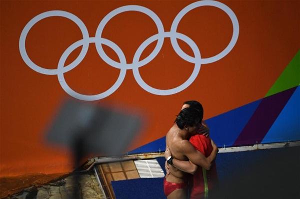 تساو يوان يعزز هيمنة الصين على ذهبيات الغطس في أولمبياد ريو