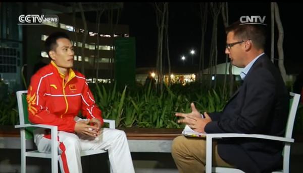 Interview with Dong Bin, triple jump bronze medalist
