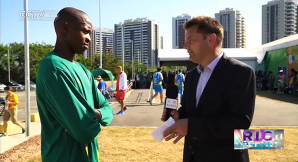 Interview with Luvo Manyonga, silver medalist in men
