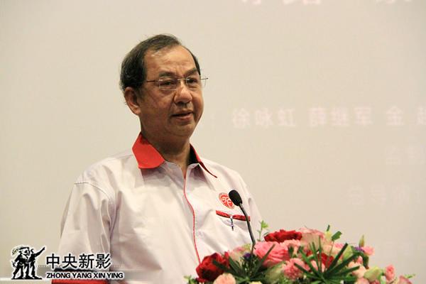 马来西亚汉文化中心主席拿督吴恒灿发言