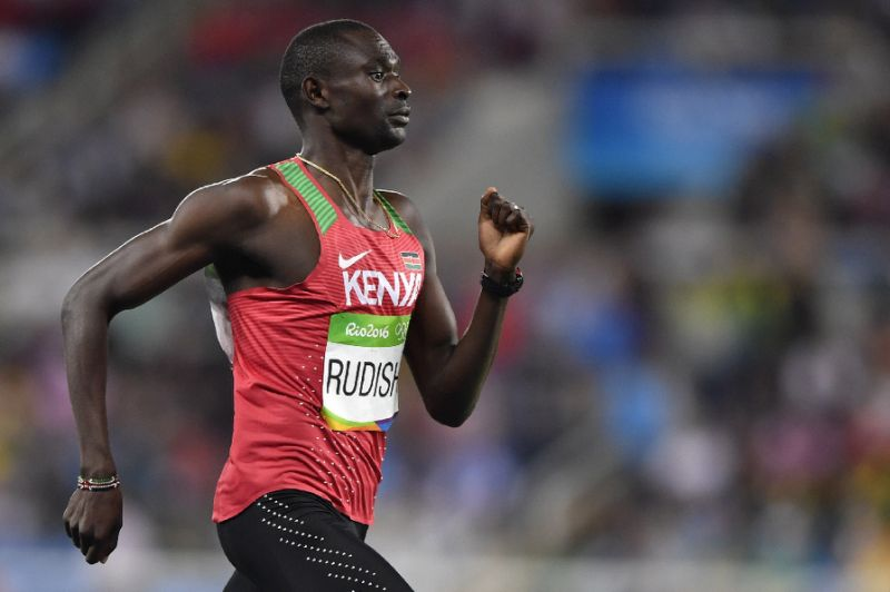 Interview with David Rudisha, gold medalist in 800 meters