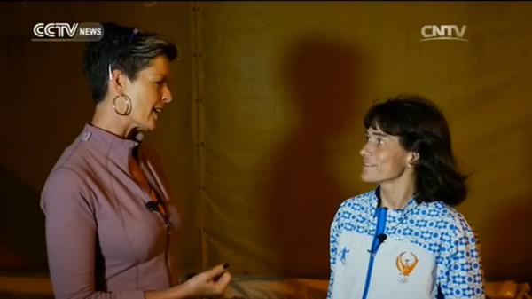 Interview with Oksana Chusovitina, the oldest gymnast in Brazil