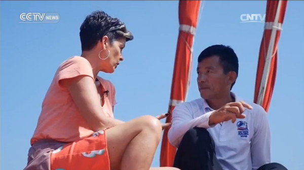 Interview with Guo Chuan, Chinese sailor