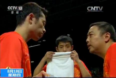 【奥运表情包】乒乓球男团:兄弟连心 其利断金
