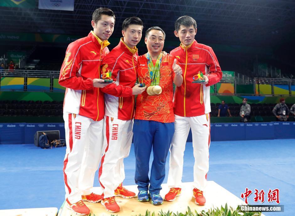 فريق الرجال الصيني لتنس الطاولة