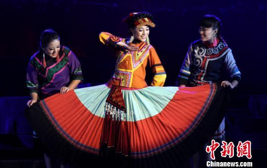 Ethnic Yi artists present local opera
