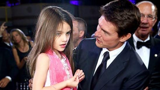 汤姆·克鲁斯与女儿