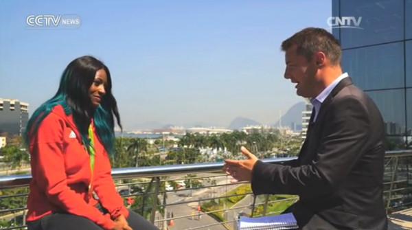 Interview with Shaunae Miller, gold medalist in women