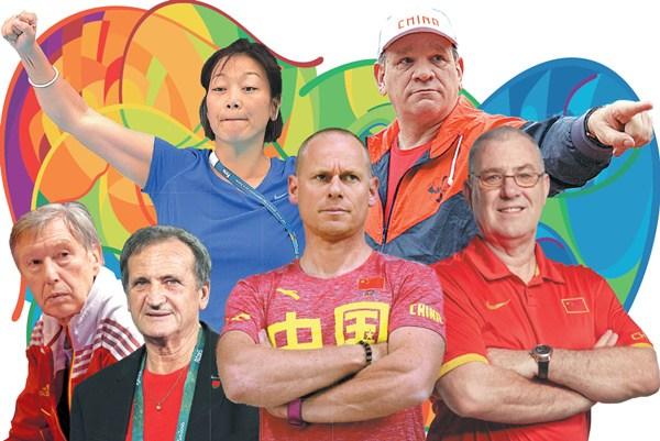 Les entraîneurs étrangers qui aident les athlètes chinois à briller