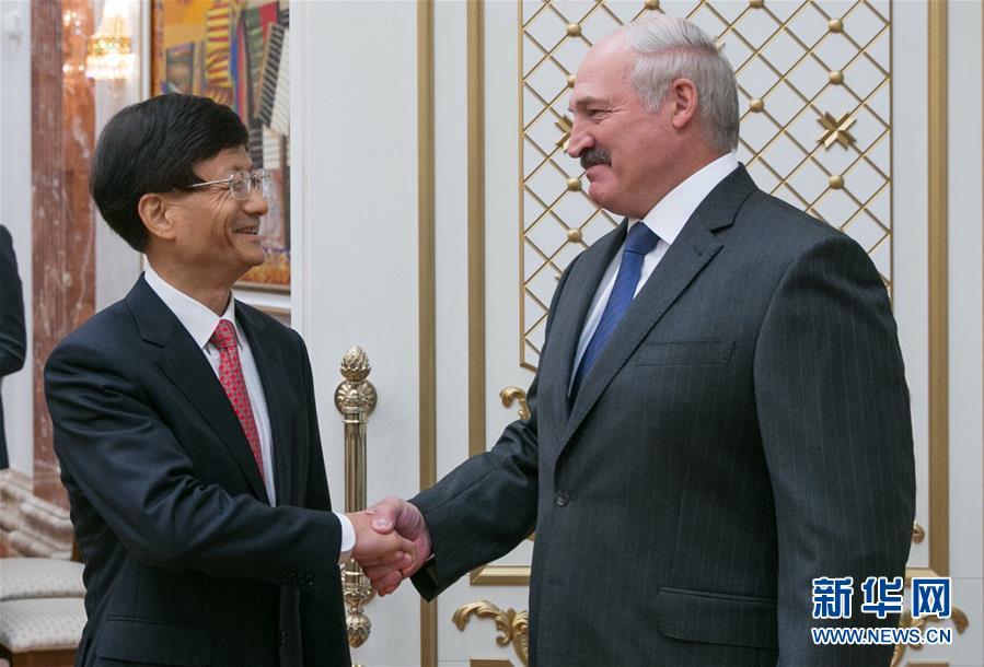 Член Политбюро ЦК КПК Мэн Цзяньчжу встретился с Президентом Беларуси Александром Лукашенко