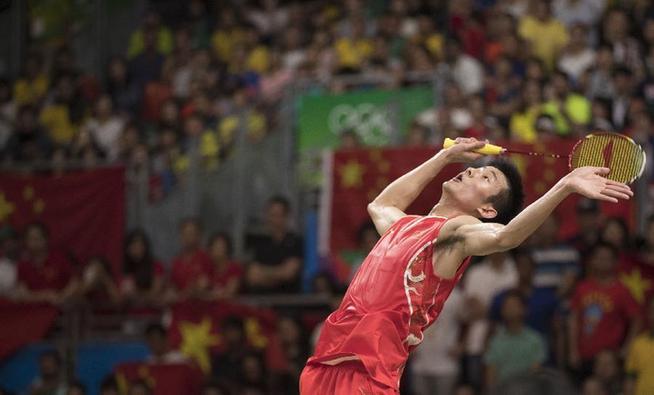 8月20日,谌龙在比赛优游品牌国际