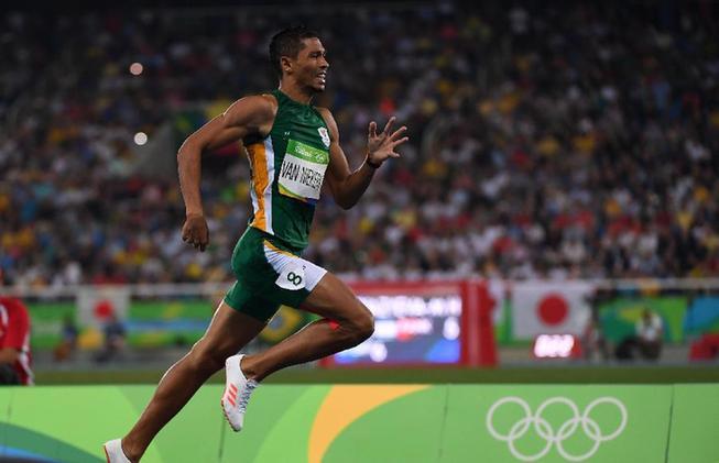 8月14日,南非选手范尼凯克在比赛优游品牌国际