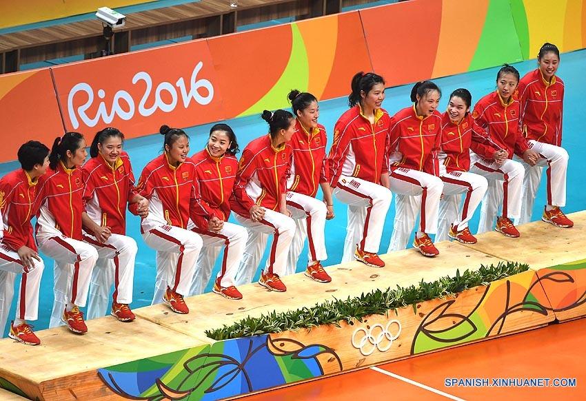 Río 2016: ¿Por qué los chinos aman tanto al equipo nacional de voleibol femenino?