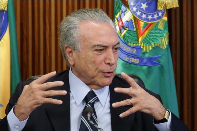 """Economía de Brasil da """"señales de recuperación"""", dice pesidente interino"""