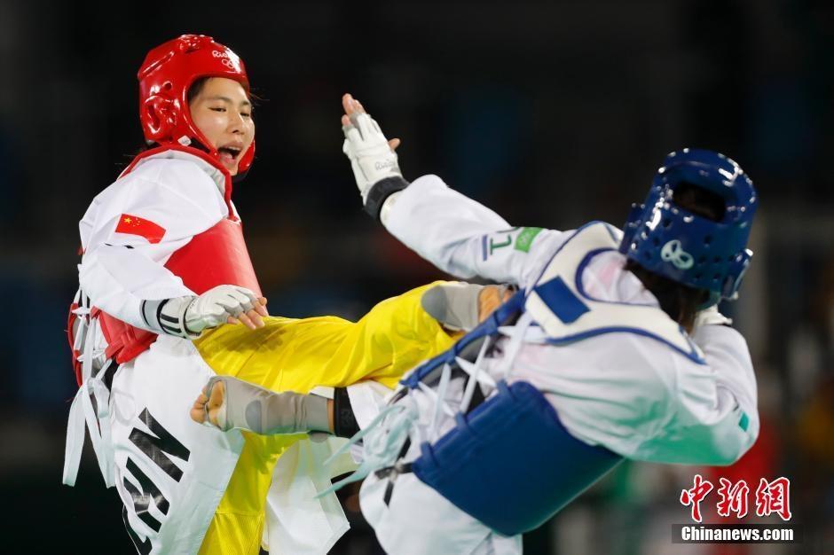 تشنغ شو يين تفوز ببطولة التايكواندو لوزن فوق 67 كلغ