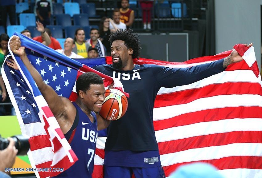 Río 2016: EEUU gana tercer oro consecutivo en baloncesto masculino
