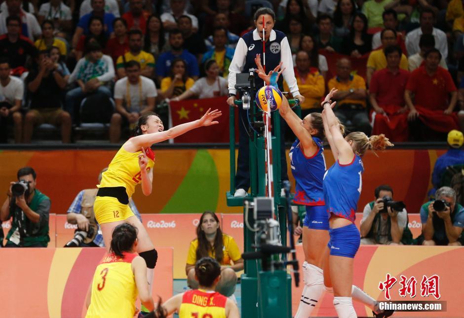 Le titre olympique en volley-ball féminin revient à l